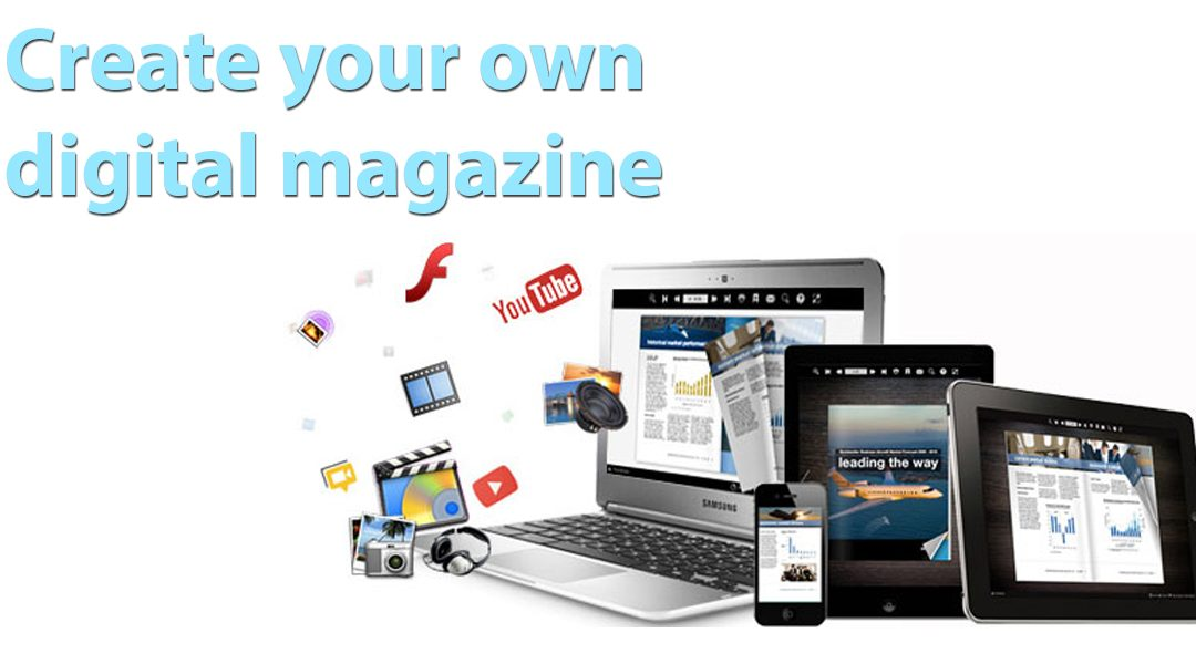 Create new web-magazine